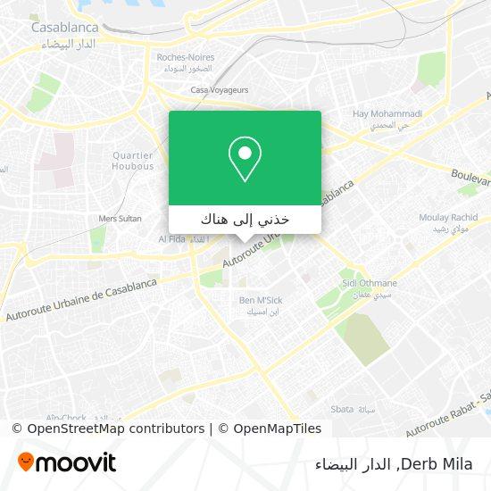 خريطة Derb Mila