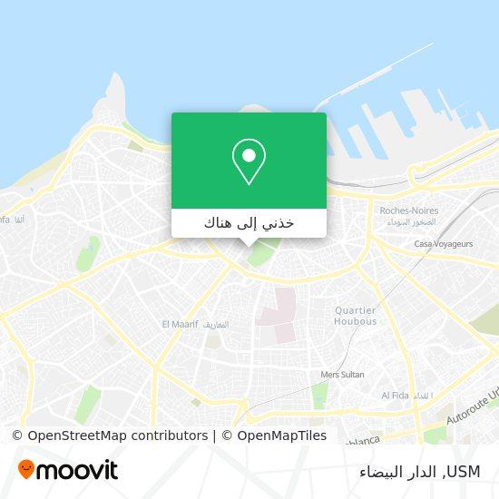 خريطة USM