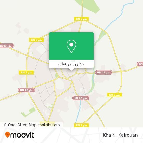 خريطة Khairi