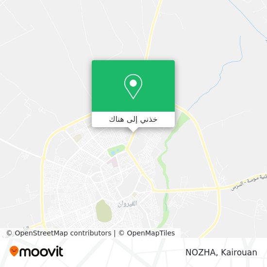 خريطة NOZHA
