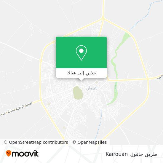 خريطة طريق حافوز