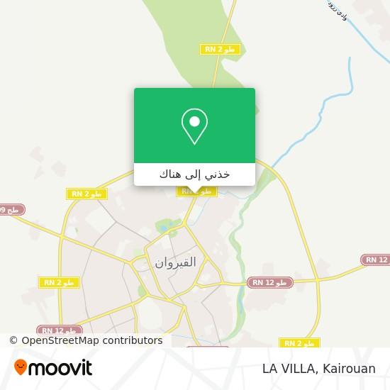 خريطة LA VILLA