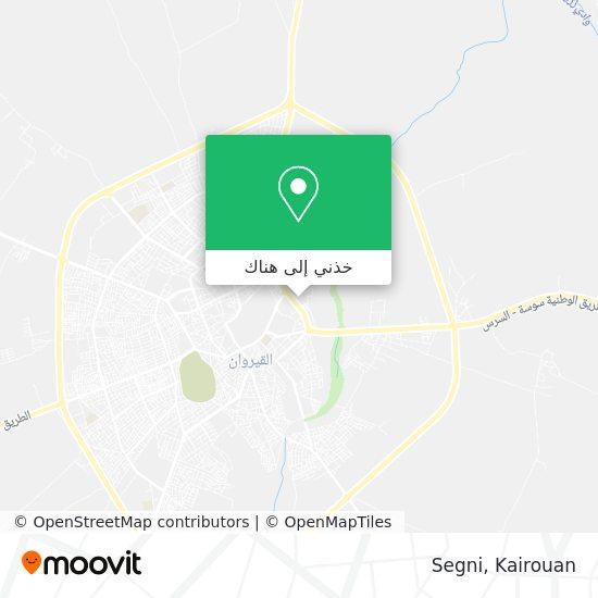 خريطة Segni