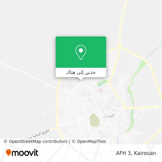 خريطة AFH 3