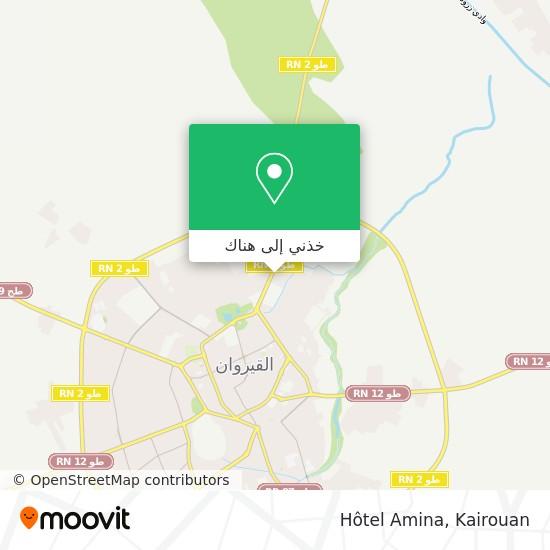 خريطة Hotel Amina