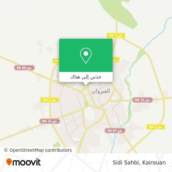 خريطة Sidi Sahbi