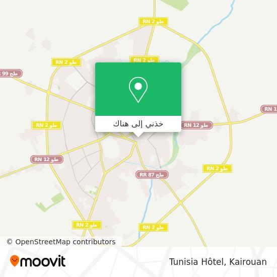 خريطة Tunisia Hôtel