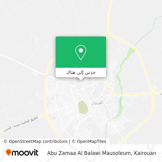 خريطة Abu Zamaa Al Balawi Mausoleum