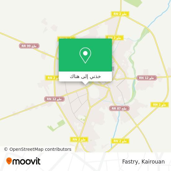 خريطة Fastry