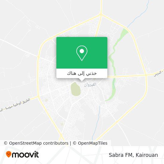 خريطة Sabra FM