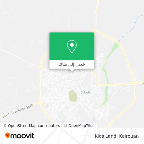 خريطة Kids Land