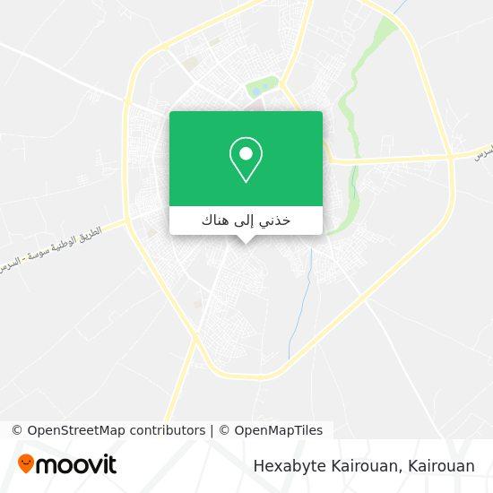 خريطة Hexabyte Kairouan