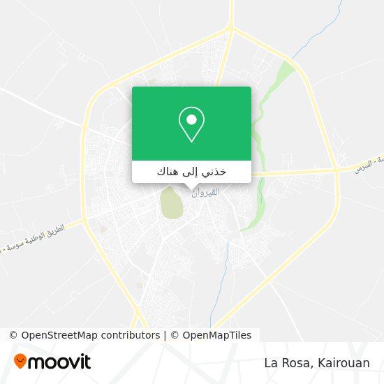خريطة La Rosa