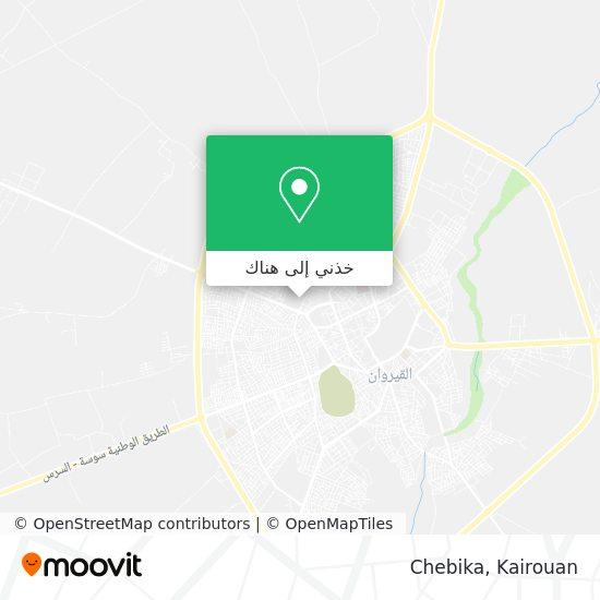 خريطة Chebika