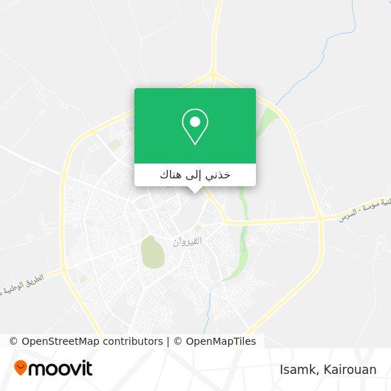 خريطة Isamk