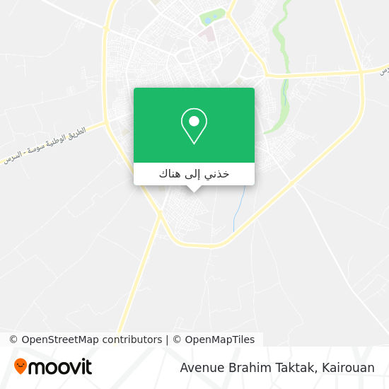 خريطة Avenue Brahim Taktak