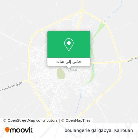 خريطة boulangerie gargabya