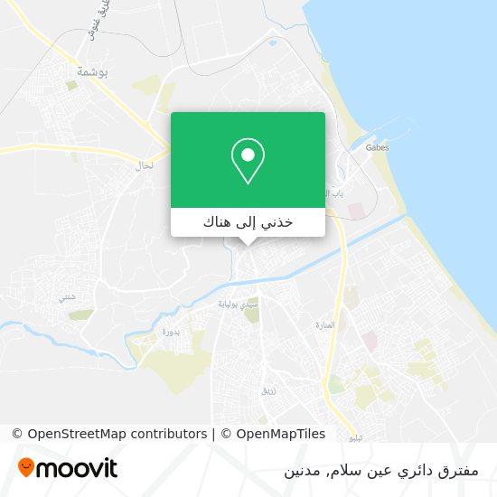 خريطة دوار عين سلام