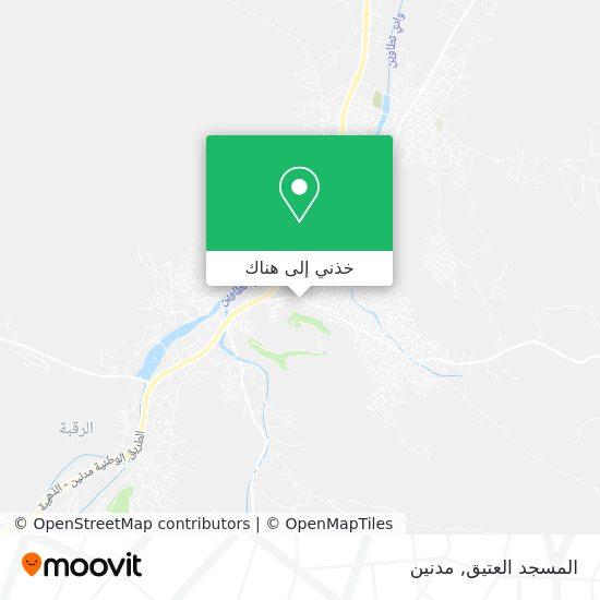 خريطة Mosquee Atik