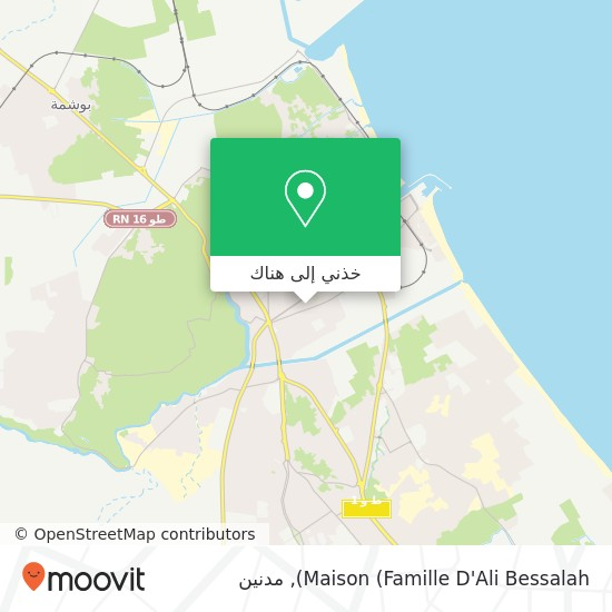 خريطة Maison (Famille D'Ali Bessalah)