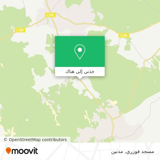 خريطة مسجد فوزري