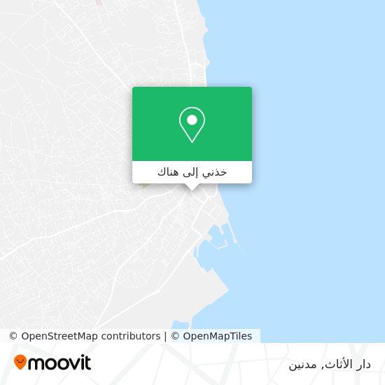 خريطة دار الأثاث