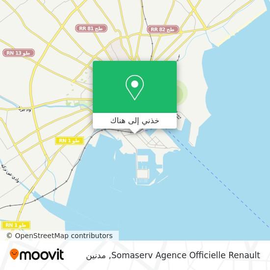 خريطة Somaserv Agence Officielle Renault