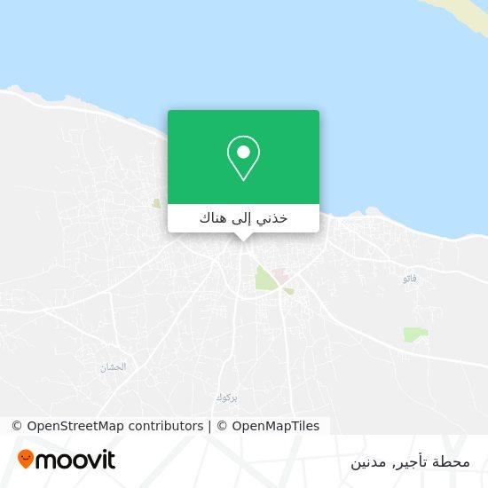 خريطة Station Des Louages