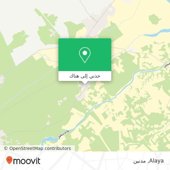 خريطة Alaya
