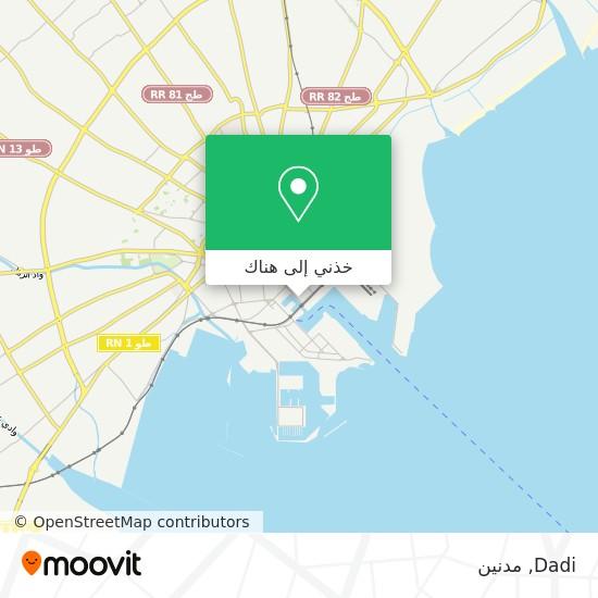خريطة Dadi