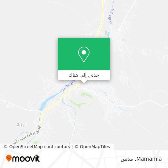 خريطة Mamamia