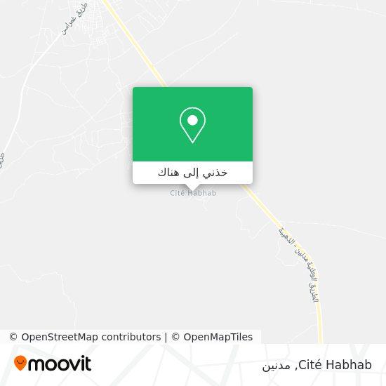 خريطة Cité Habhab