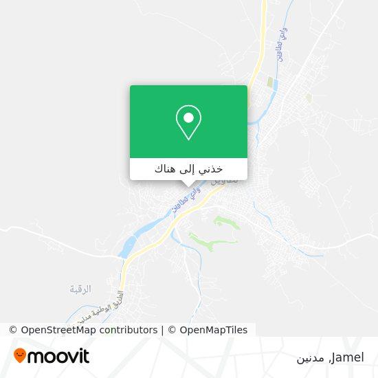 خريطة Jamel