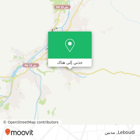 خريطة Leboudi