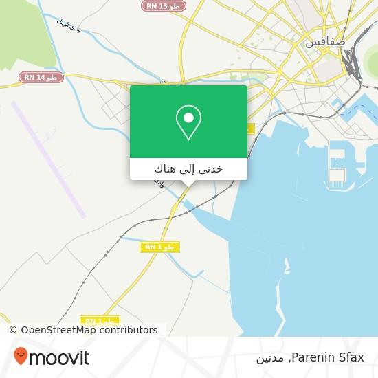 خريطة Parenin Sfax