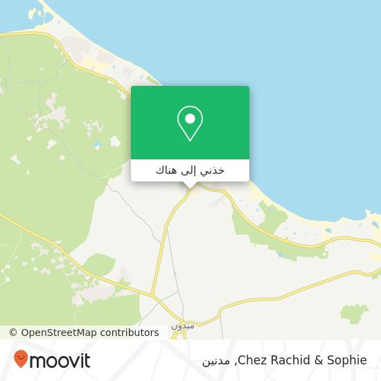 خريطة Chez Rachid & Sophie
