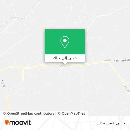 خريطة حاسي عمر