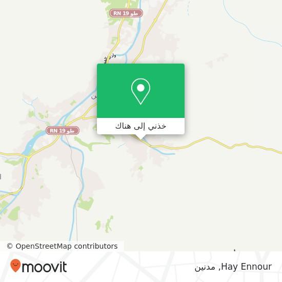 خريطة Hay Ennour
