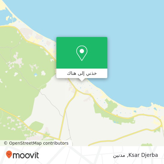 خريطة Ksar Djerba