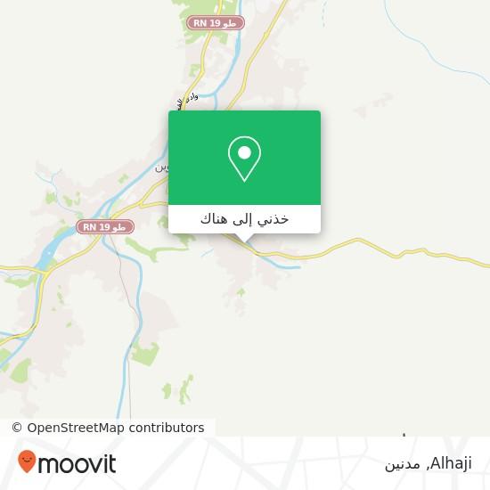 خريطة Alhaji