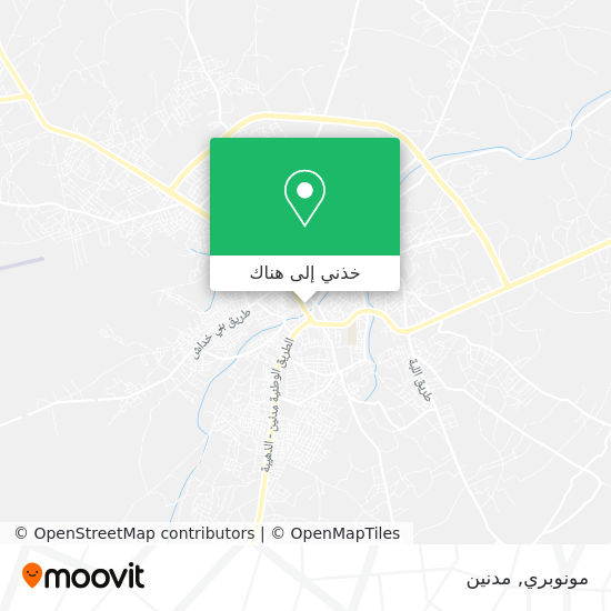 خريطة مونوبري