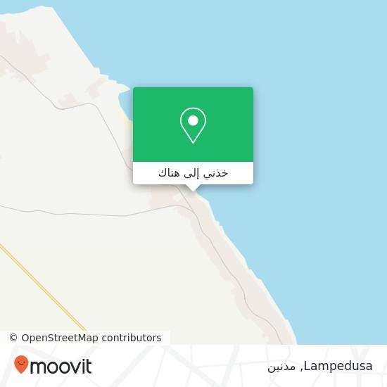 خريطة Lampedusa
