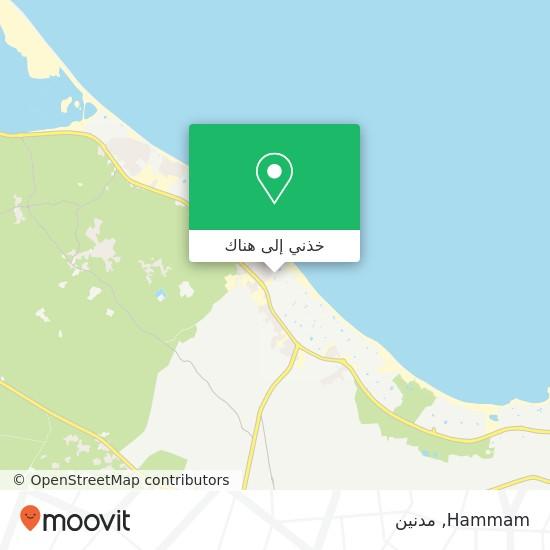 خريطة Hammam