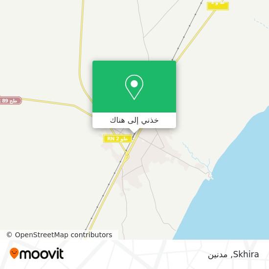 خريطة Skhira