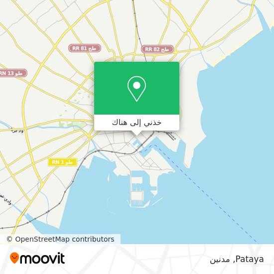 خريطة Pataya