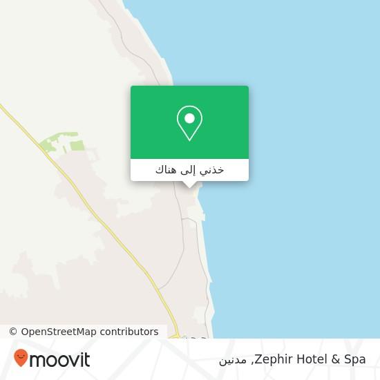 خريطة Zephir Hotel & Spa