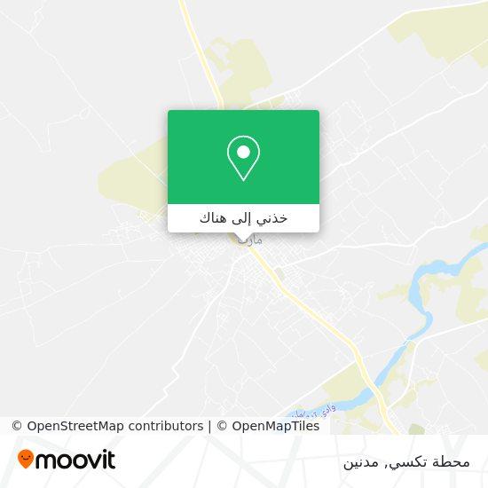خريطة Station Taxi