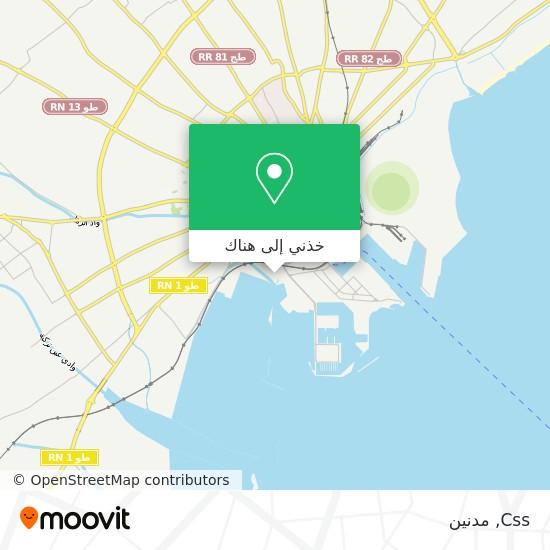 خريطة Css