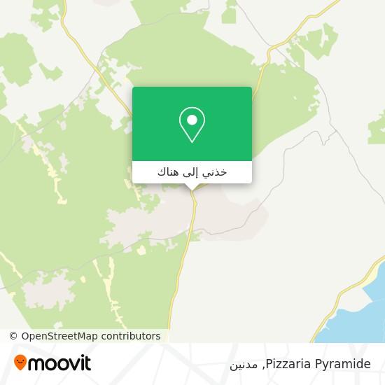 خريطة Pizzaria Pyramide