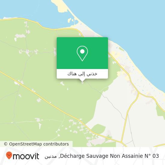 خريطة Décharge Sauvage Non Assainie N° 03